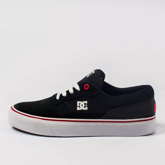 Tênis Skate Dc Shoes Switch Preto/branco Original Lançamento