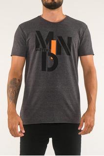 Camiseta Corte A Fio Estampa Mind Matters