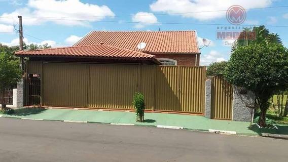 Casa Residencial À Venda, Centro, São Pedro. - Ca1092