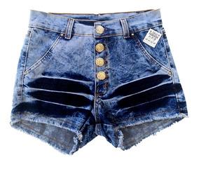 Shorts Feminino, Atacado Jeans Kit C/10und, Preço De Fabrica