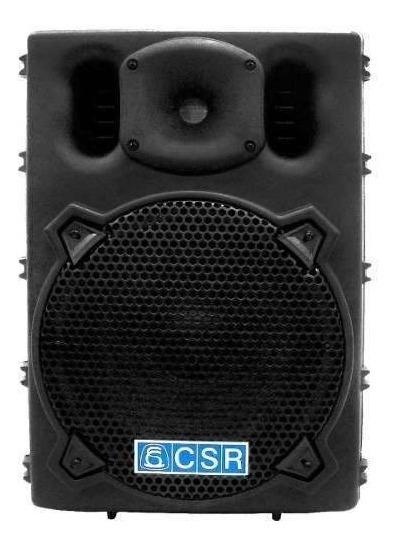 Caixa Ativa Csr 2500 Usb Fal 10 Pol 100w C/ Usb / Bluetooth