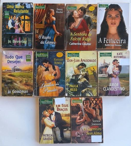 Clássicos Históricos Romance 2 Historias 10 Livros Lote H1
