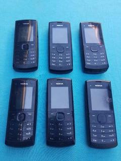 Lote Com 6 Celulares Nokia X1-01 / X1-00 (leia A Descrição)