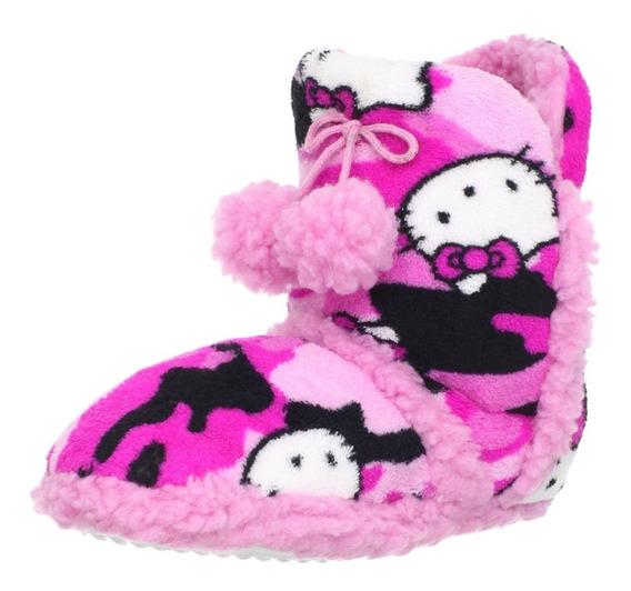 Pantufa Botinha Hello Kitty Promoção! Escolha Tamanho