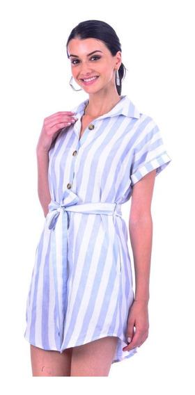 Vestido Estilo Camisero Mujer Capricho Collection V81-19