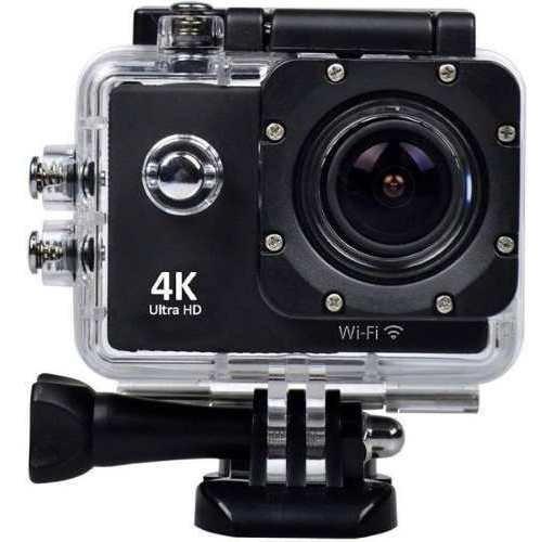 Action Camera 12mp Go Pro Ultra Hd Wifi Hd Esporte Usb 2.0