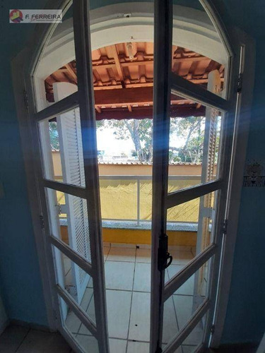 Imagem 1 de 22 de Sobrado Com 2 Dormitórios À Venda, 71 M² Por R$ 300.000,00 - Jardim Cinira - Itapecerica Da Serra/sp - So0225