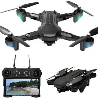 H12 4k Cámara Dual Rc Drone Quadcopter Cámara Plegable