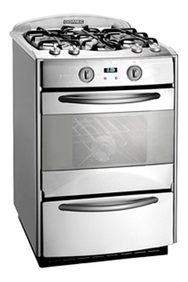 Cocina A Gas Domec Next Line Ii Multgas Inox.cxnn60frv