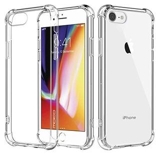 Estuche Forro Transparente iPhone 7 8 / 7 8 Plus X Xs Max Xr