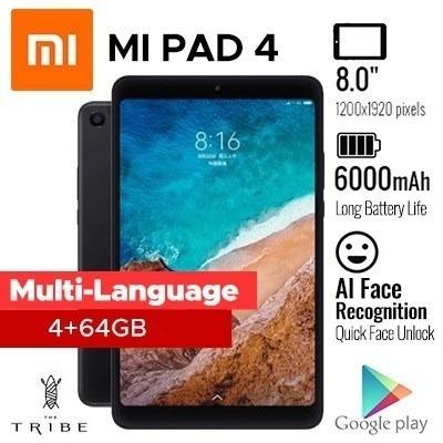Tablet Xiaomi Mi Pad 4 64gb / 4 Gb Versão Global