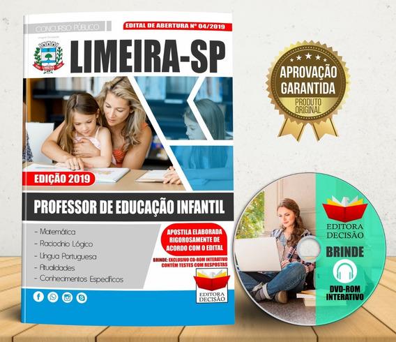 Apostila Limeira Sp 2019 - Professor De Educação Infantil