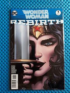 Dc Comics Wonder Woman Rebirth #1 Grapas Televisa 2017