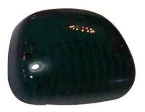 Lentes Delimitador Techo Transparente Verde Ap-440