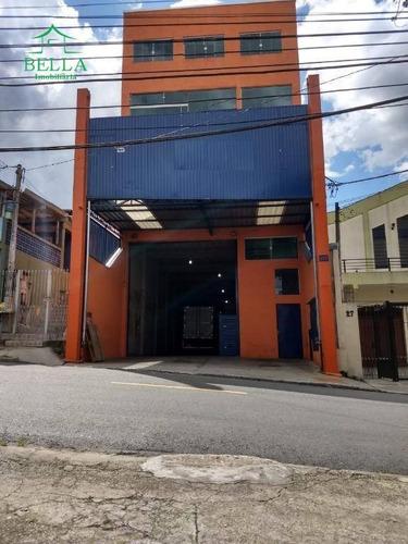 Galpão Para Alugar Por R$ 6.000/mês - Vila Menk - Osasco/sp - Ga0194