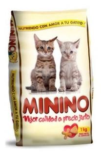 Alimento Gatos Cachorros Minino 1 Kg Ea