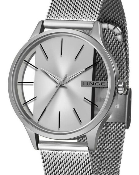 Relógio Lince Feminino Prata Lrm624l S1sx