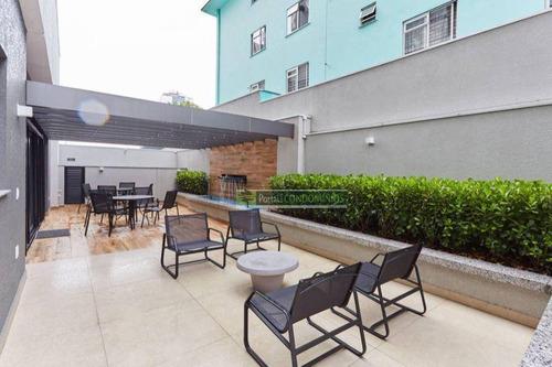 Apartamento Com 2 Dormitórios À Venda, 103 M² Por R$ 807.875,75 - Portão - Curitiba/pr - Ap0246