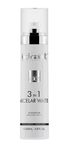 Idraet Agua Micelar 3 En 1 Limpieza Facial 200ml