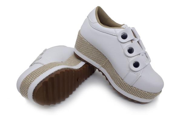 Tenis, Sapato Salto, Anabela, Flatform, Plataforma Feminino Original (lançamento)