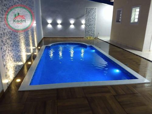 Imagem 1 de 19 de Casa Com 3 Dormitórios À Venda, 154 M² Por R$ 1.200.000,00 - Balneário Flórida - Praia Grande/sp - Ca1291
