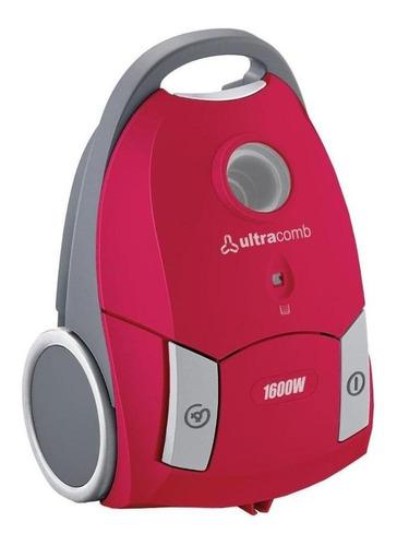 Imagen 1 de 1 de Aspiradora Ultracomb AS-4210 2.5L  rosa y gris 220V