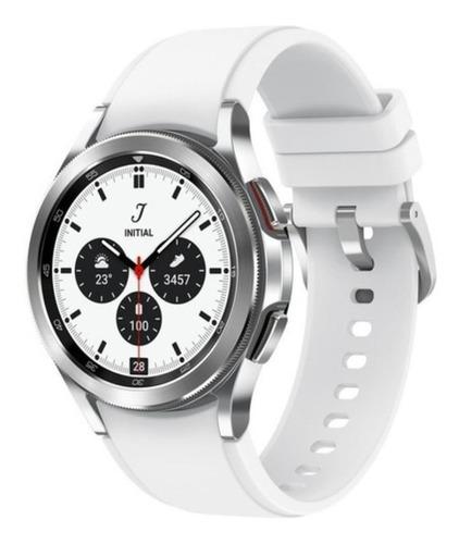 Smartwatch Samsung Galaxy Watch 4 Classic Bt - Prata Sm-r880nzspzto 42mm