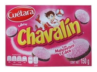 Galletas Cuétara Chavalín Con Malvavisco Y Coco 150 G