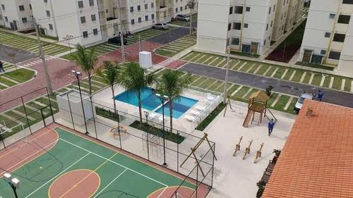 Apartamento Em Campo Grande, Rio De Janeiro/rj De 45m² 2 Quartos À Venda Por R$ 150.000,00 - Ap1016870