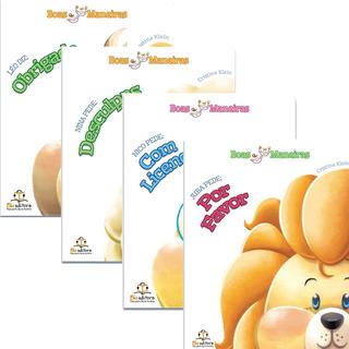 Livro Infantil Coleção Boas Maneiras Blu Editora 4 Títulos