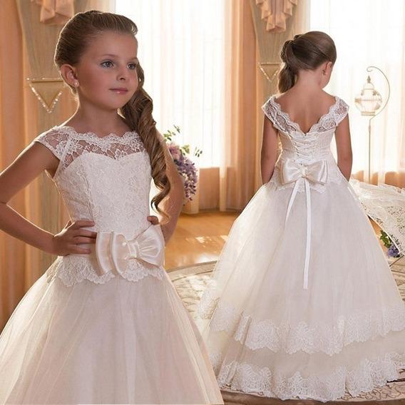 Vestido Tutu Encaje Muchachas De Los Niños Para El Vestido