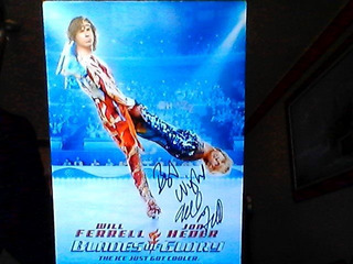 Poster Autografiado Por Will Ferrell