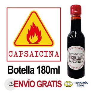 Capsaicina Concentrado 1 Millón Shu 180ml Picor Salsa Alitas