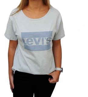 Remera Levis Standard Graphic Logo Mujer M/corta Original