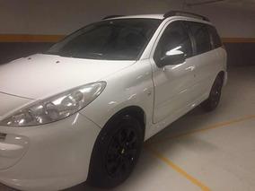 Peugeot 207 Sw 1.4 Xr Flex 5p 2012 A Mais Nova De Sp