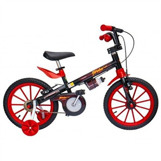 Bicicleta Infantil Aro 16 Ferinha Preta 17341-18809 Fischer