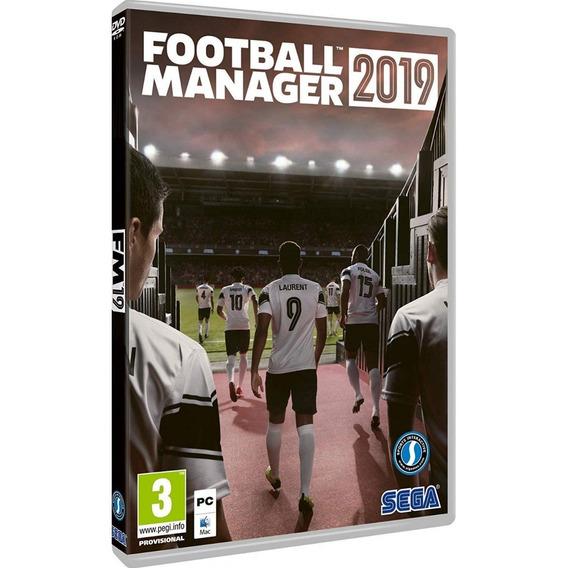 Football Manager 2019 - Premium Edition Pc Dvd Frete 8 Reais