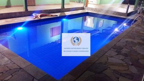Imagem 1 de 13 de Chácara Com 3 Dormitórios À Venda, 1000 M² Por R$ 390.000,00 - Centro - Cosmópolis/sp - Ch0093