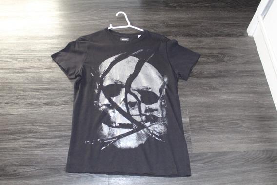 Camiseta Diesel Skull (caveira) Tamanho P.