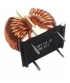 Indutor Common Mode 0.53mh T/h - Cmt4-6-r - Kit C/ 5 Pçs