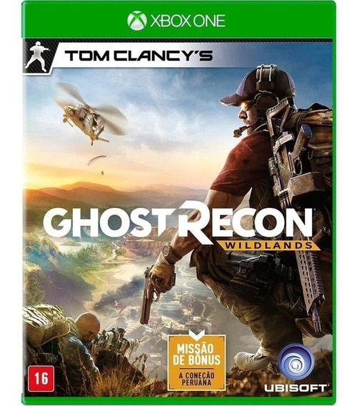 Tom Clancys Ghost Recon Wild Lands Xbox One Midia Fisica Br