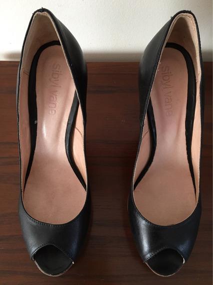 Zapatos Stilettos Cuero, Plataforma. Sibyl Vane.