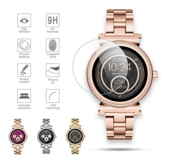 Mica De Cristal Templado Smartwatch Michael Kors Sofie Mkt