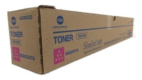 Imagen 1 de 1 de Toner Konica Minolta Bizhub C454/554 Original Magenta Tn512m