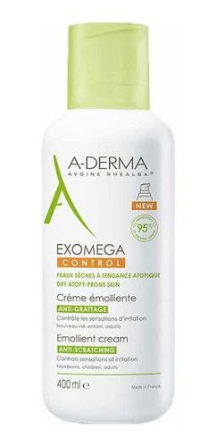 A-derma Exomega Control Crema Emoliente 400 Ml