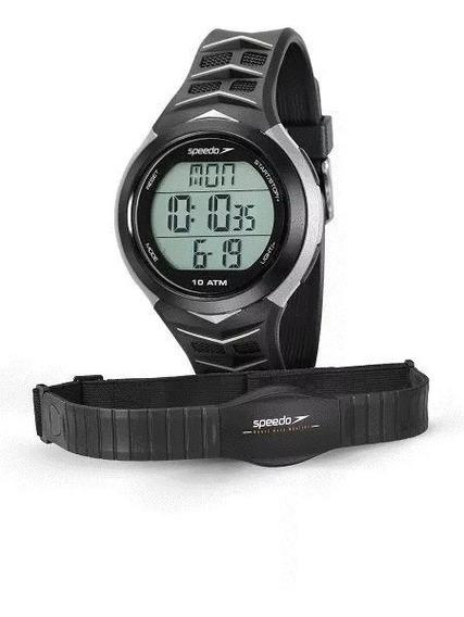Relógio Masculino Feminino Speedo Monitor Cardíaco Original