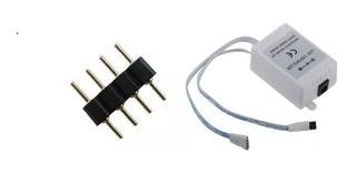 Pin Union Conector Cinta Rgb 5050 4 Pines Minimo 6 Piezas