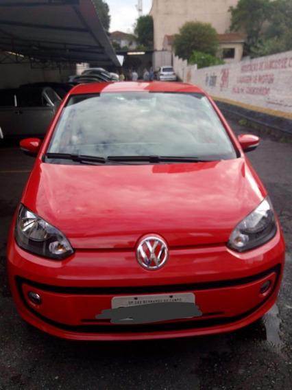 Volkswagem Up 15/16 Vermelho, Unico Dono, Estepe Sem Uso,