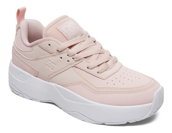 Zapatillas Dc E Tribeka Plataforma Rosa Mujer Dc