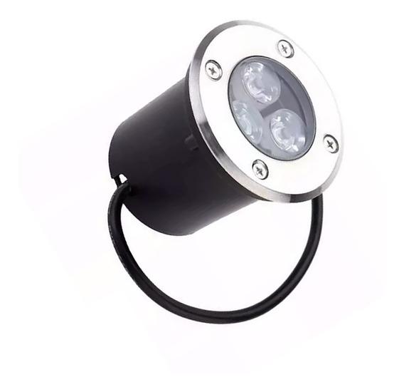 Balizador Luminária Piso Solo Chão Embutir Super Led 3w Ip67